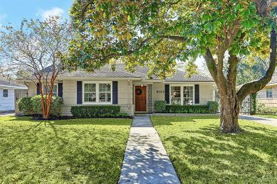 Houston Single Family Home For Sale: 3107 Fairhope Street