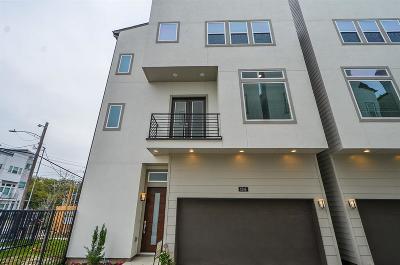 Houston Single Family Home For Sale: 1516 Elgin Street