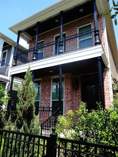 Houston Single Family Home For Sale: 407 W 26th Street #C