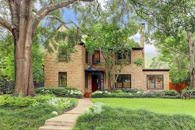 River Oaks Single Family Home For Sale: 2232 Looscan Lane