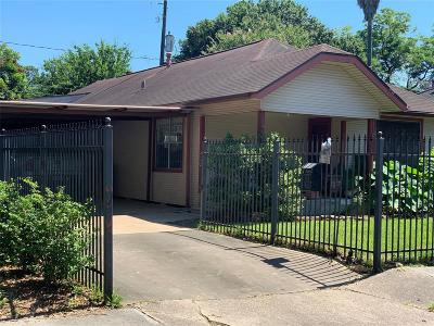 Houston Single Family Home For Sale: 1124 Omar Street