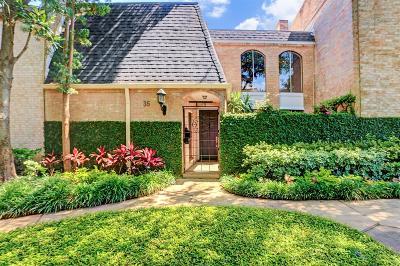 River Oaks Condo/Townhouse For Sale: 35 River Hollow Lane