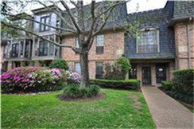 Condo/Townhouse For Sale: 2400 Braeswood Bl #233