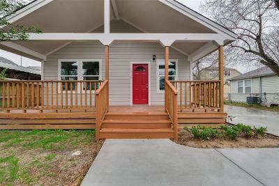 Houston Single Family Home For Sale: 1319 Idylwild Street