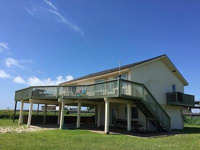 Galveston Single Family Home For Sale: 4417 Antigua