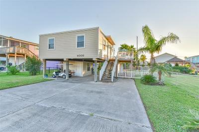 Galveston Single Family Home For Sale: 4006 Reeves Drive