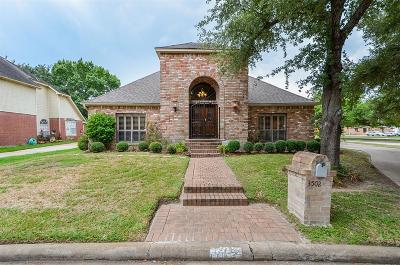 Houston Single Family Home For Sale: 3502 Ashlock Drive