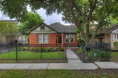 Houston Single Family Home For Sale: 754 E 16th Street