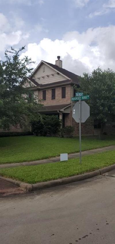 Houston Single Family Home For Sale: 14115 Prosperity Ridge Drive