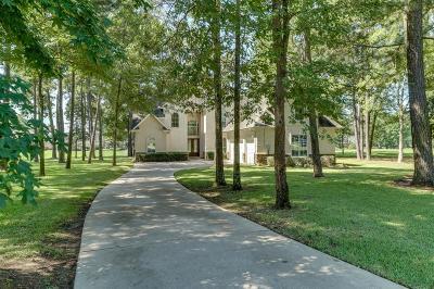 Montgomery Single Family Home For Sale: 11428 Lake Oak Drive