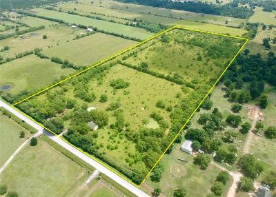 Harris County Farm & Ranch For Sale: 19522 Becker Road