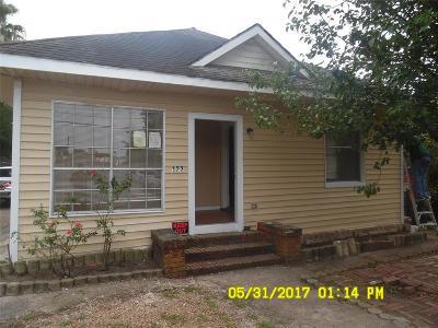 Houston Single Family Home For Sale: 122 Redan Street