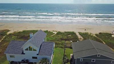 Galveston Single Family Home For Sale: 21223 Gulf Drive