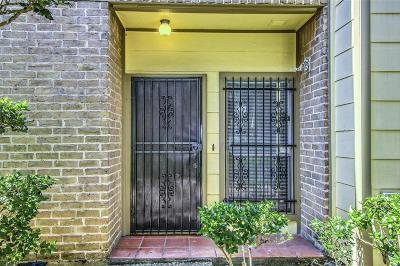 Houston Condo/Townhouse For Sale: 8299 Cambridge Street #203
