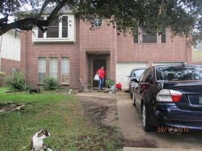 Houston Single Family Home For Sale: 4014 Clayton Bend Court