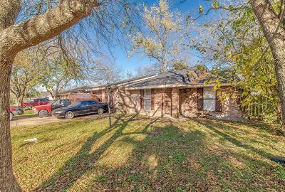 Houston Single Family Home For Sale: 3607 Hollybrook Lane