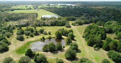 Fayette County Farm & Ranch For Sale: 0000 Carmine Cemetery Rd Road