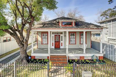 Houston Single Family Home For Sale: 318 Eastwood Street