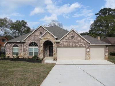 Conroe Single Family Home For Sale: 168 April Waters Drive W