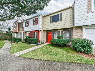 Houston Condo/Townhouse For Sale: 8333 Nairn Street