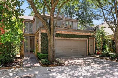 Houston Condo/Townhouse For Sale: 10 S Briar Hollow Lane #70