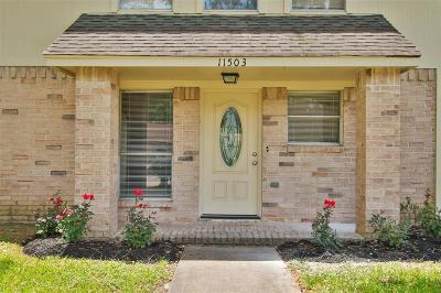 Houston Single Family Home For Sale: 11503 Henley Drive