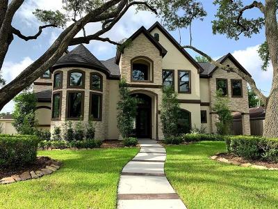 Houston TX Single Family Home For Sale: $1,129,000