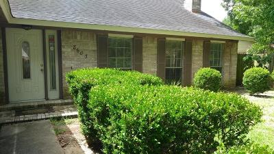 Houston TX Single Family Home For Sale: $169,000