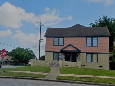 Houston Multi Family Home For Sale: 2601 Wheeler Street