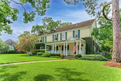 Houston Single Family Home For Sale: 3523 Sunset Boulevard