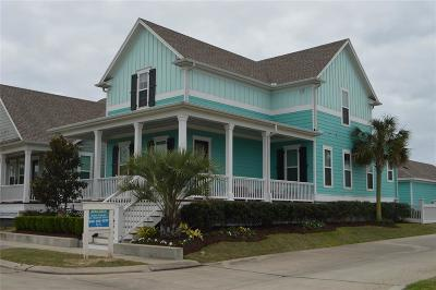 Galveston Single Family Home For Sale: 1 Sunrise Row