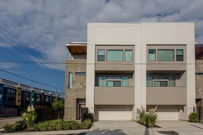 Houston Condo/Townhouse For Sale: 1103 Bonner Street