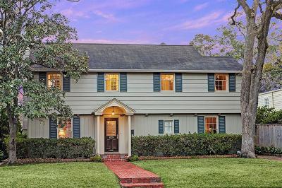 River Oaks Single Family Home For Sale: 3461 Wickersham Lane