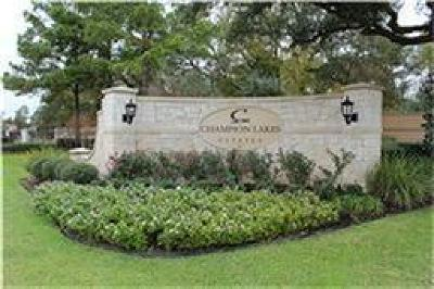 Tomball Residential Lots & Land For Sale: 00 Lakeway Park