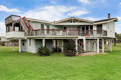 Galveston Single Family Home For Sale: 4206 Surf