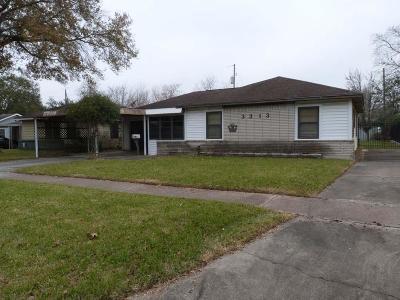 Pasadena Single Family Home For Sale: 3313 Dartmouth Drive