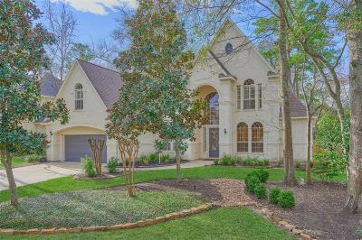 The Woodlands Single Family Home For Sale: 91 Glentrace Circle