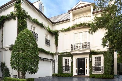 Houston Single Family Home For Sale: 6 Eaton Square