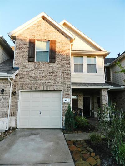 Spring, The Wodlands, Tomball, Cypress Rental For Rent: 1610 Gavin Court