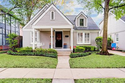 Houston Single Family Home For Sale: 3122 Amherst Street