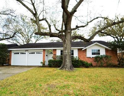 Houston Single Family Home For Sale: 11711 Hillcroft Street