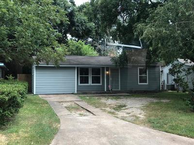 Houston Single Family Home For Sale: 8132 Garland Street