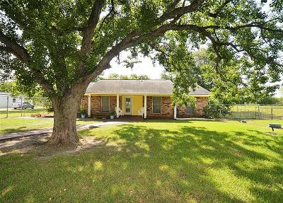 Manvel Single Family Home For Sale: 3939 Allen Road