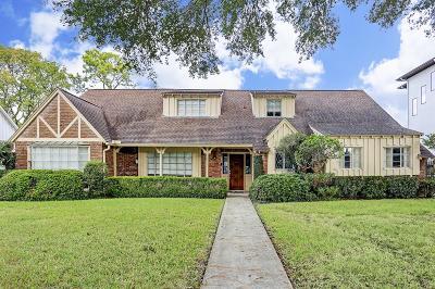 Meyerland Single Family Home For Sale: 5014 Glenmeadow Drive