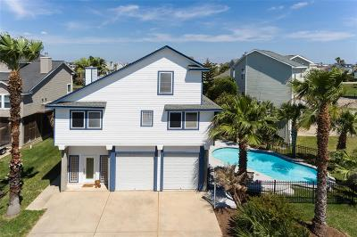Tiki Island Single Family Home For Sale: 1402 Tiki Drive