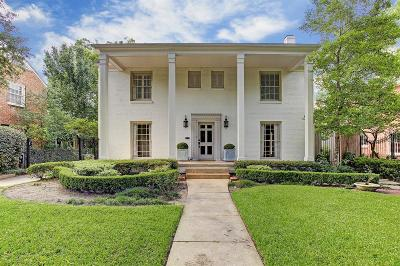 Houston Single Family Home For Sale: 3662 Overbrook Lane