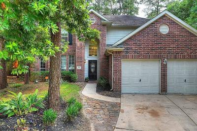 The Woodlands Single Family Home For Sale: 288 Misty Dawn Court