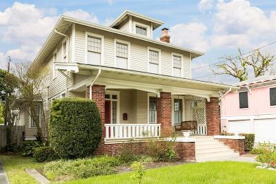 Galveston Single Family Home For Sale: 2516 Avenue O 1/2