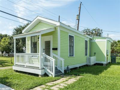 Galveston Single Family Home For Sale: 1211 17th Street