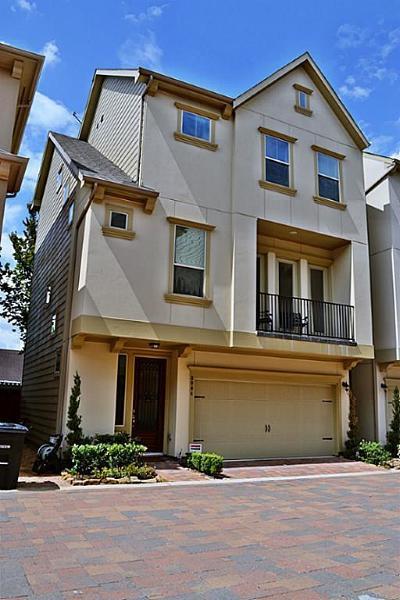 Houston TX Single Family Home For Sale: $396,900